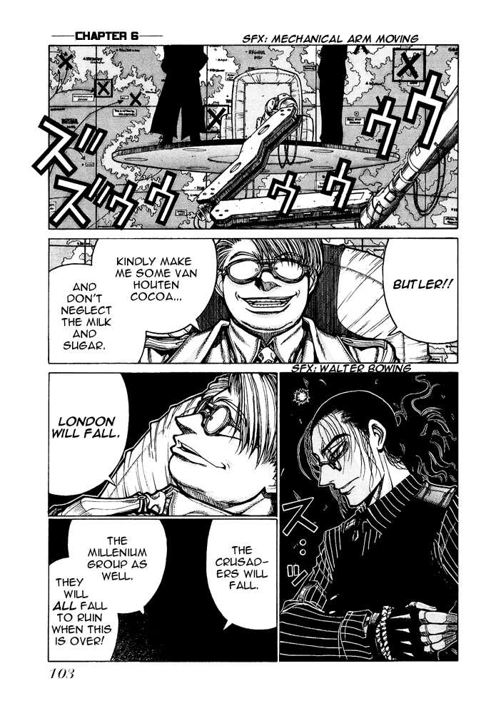 Hellsing 64 Page 1