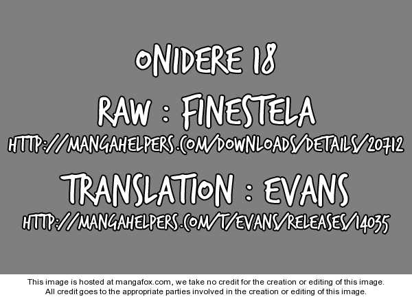 Onidere 18 Page 1
