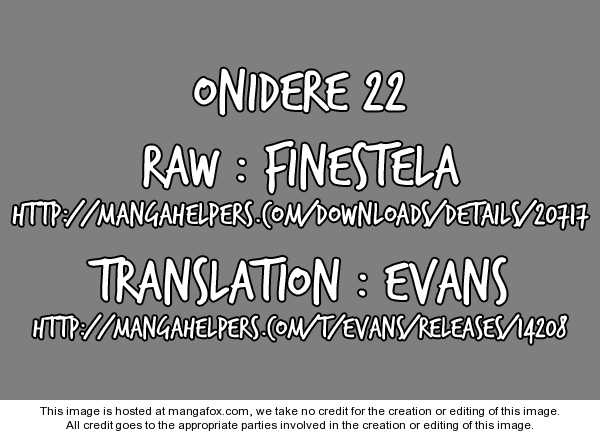 Onidere 22 Page 1
