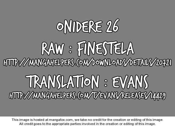 Onidere 26 Page 1