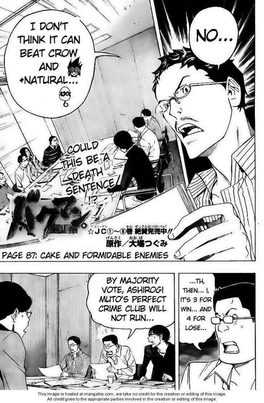 Bakuman 87 Page 1