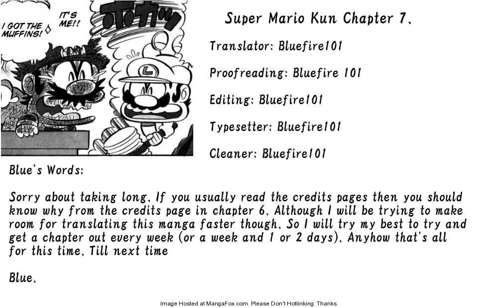 Super Mario-kun 7 Page 1