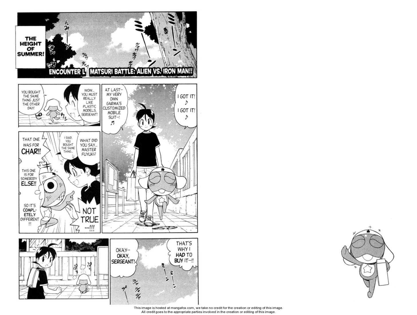 Keroro Gunsou 50 Page 1