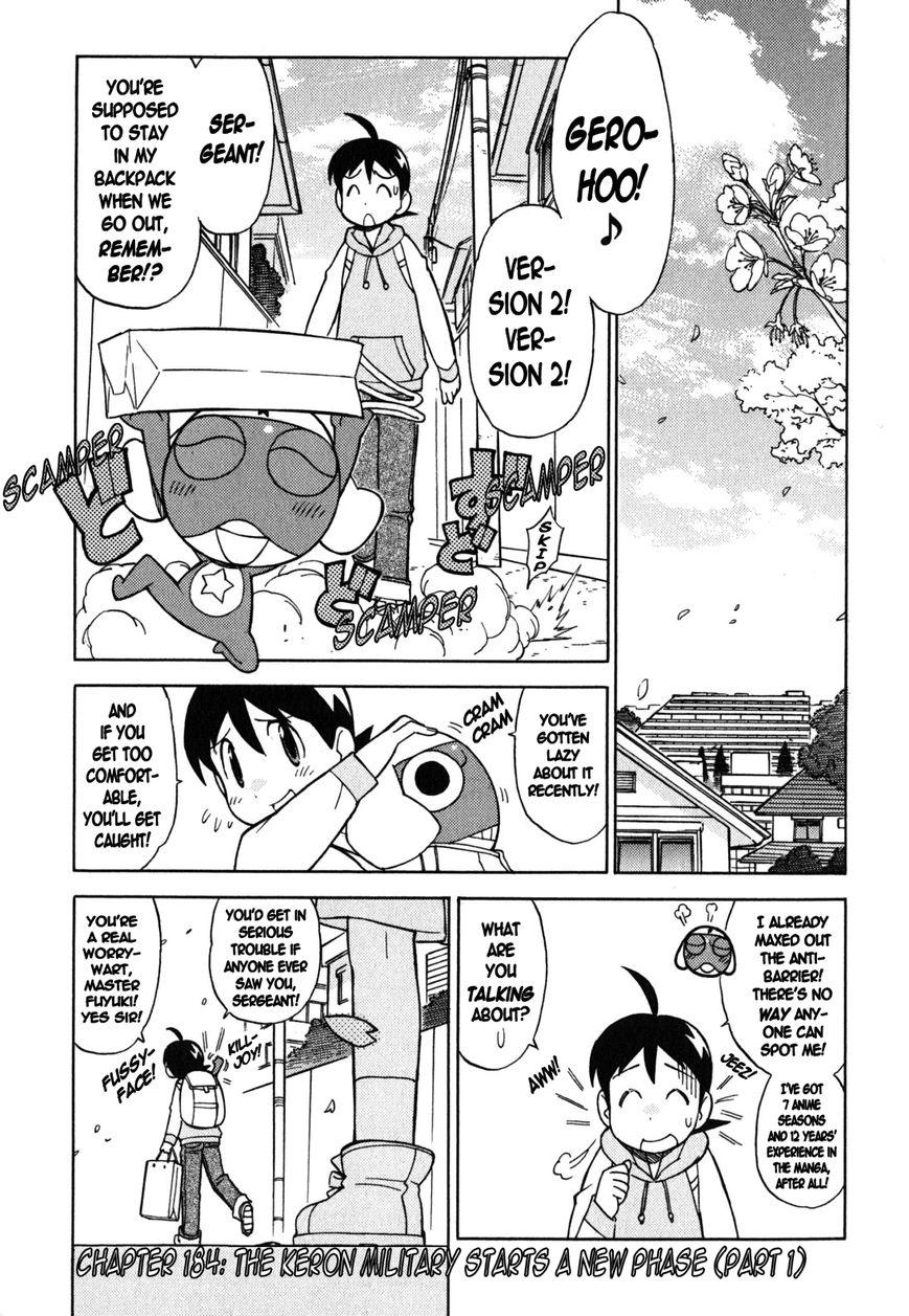 Keroro Gunsou 184 Page 1