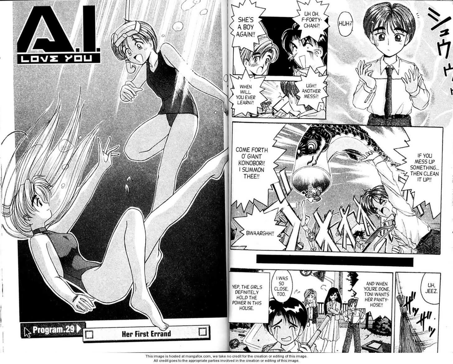 Ai Ga Tomaranai! 29 Page 1