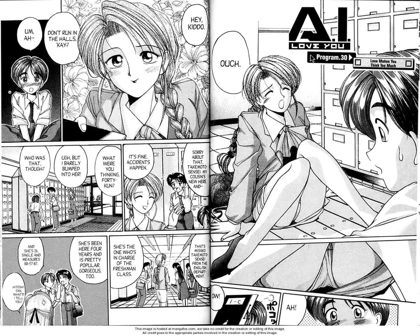 Ai Ga Tomaranai! 30 Page 1