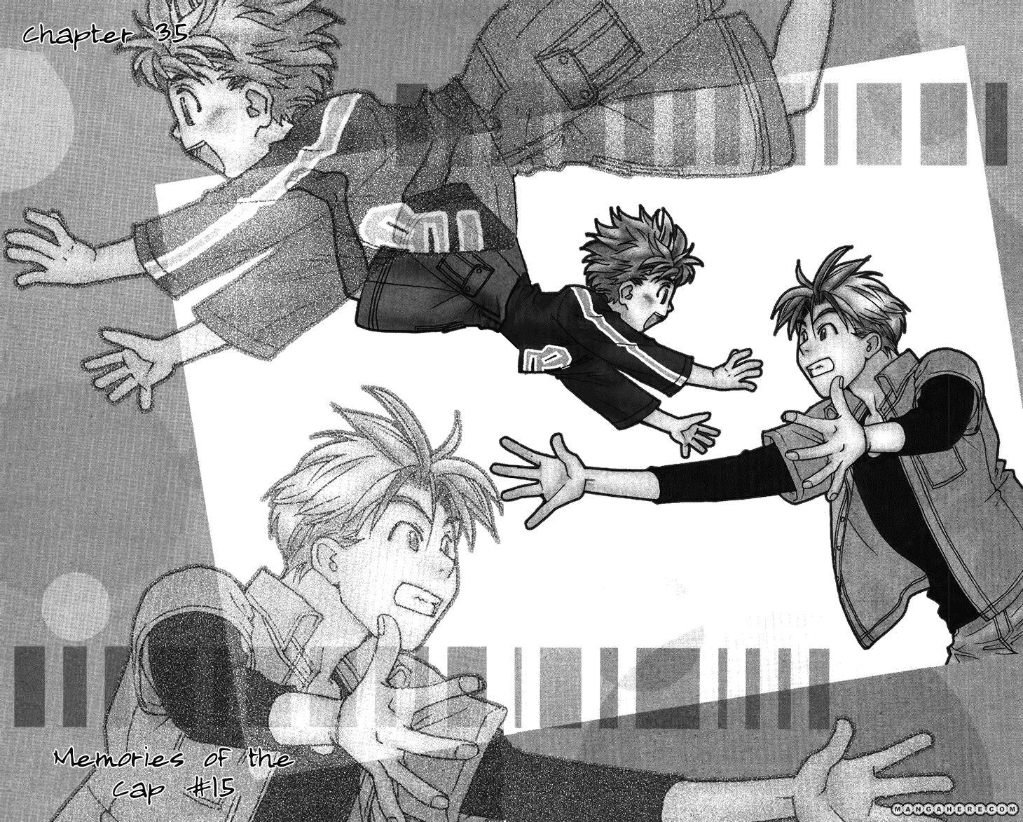Boku wo Tsutsumu Tsuki no Hikari 35 Page 1