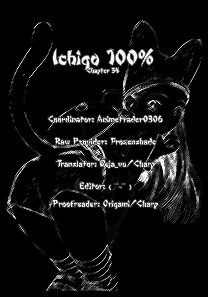 Ichigo 100% 34 Page 1