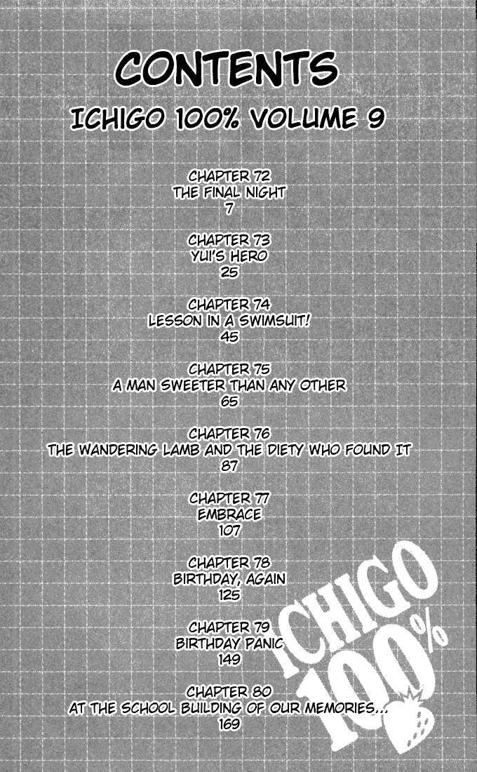 Ichigo 100% 72 Page 3