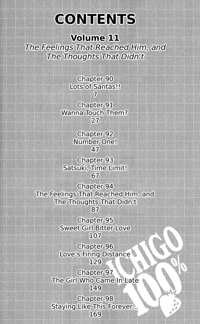 Ichigo 100% 90 Page 4