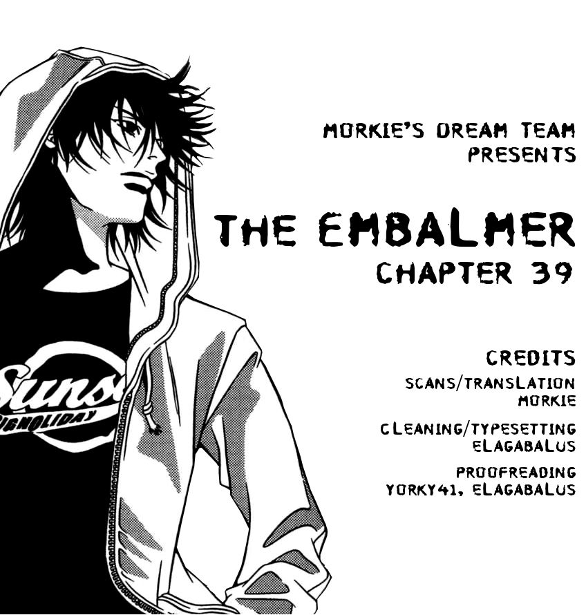 The Embalmer 39 Page 1