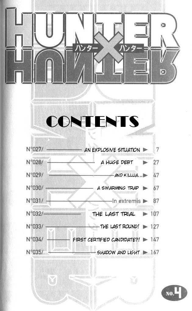 Hunter X Hunter 27 Page 1