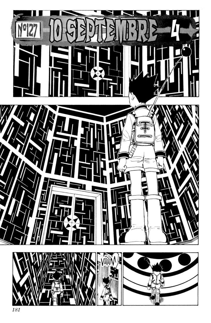Hunter X Hunter 127 Page 1