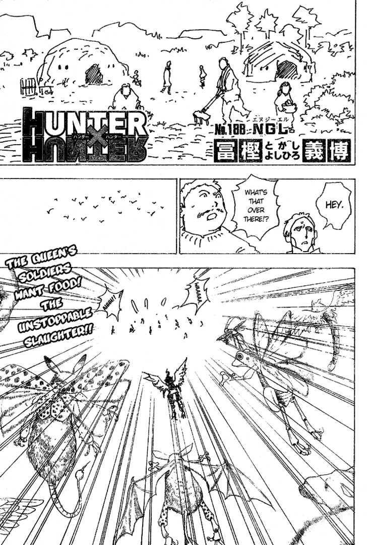 Hunter X Hunter 188 Page 1
