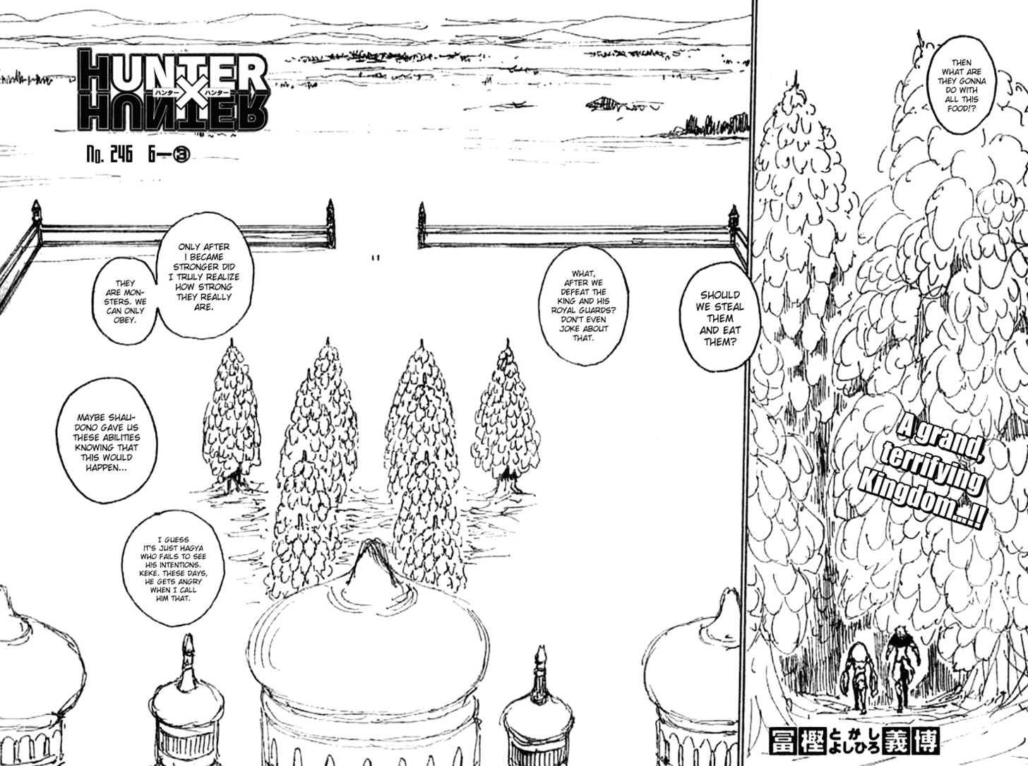 Hunter X Hunter 246 Page 2