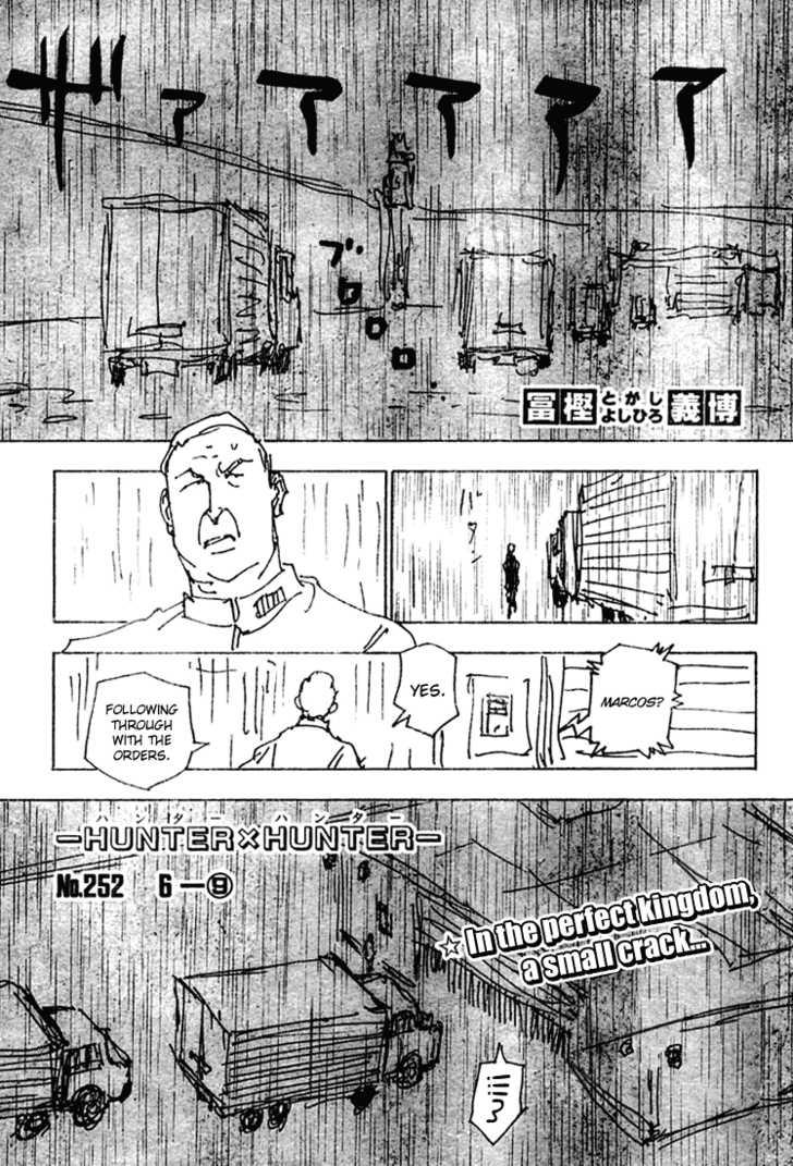 Hunter X Hunter 252 Page 1