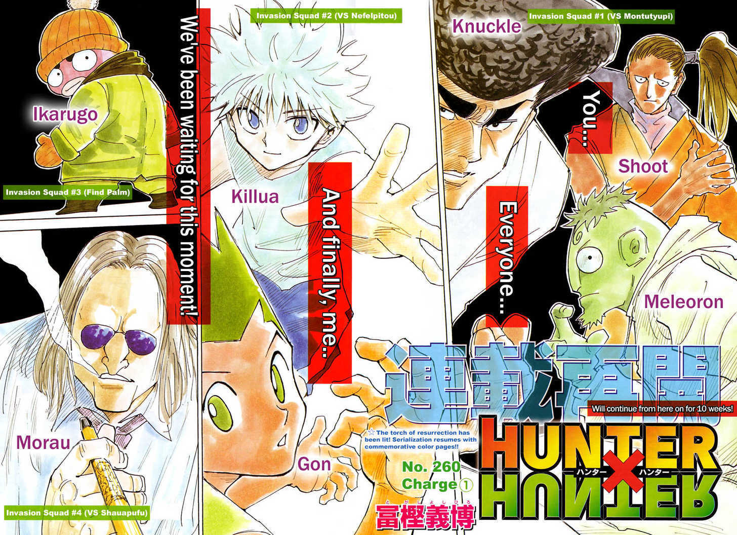 Hunter X Hunter 261 Page 2