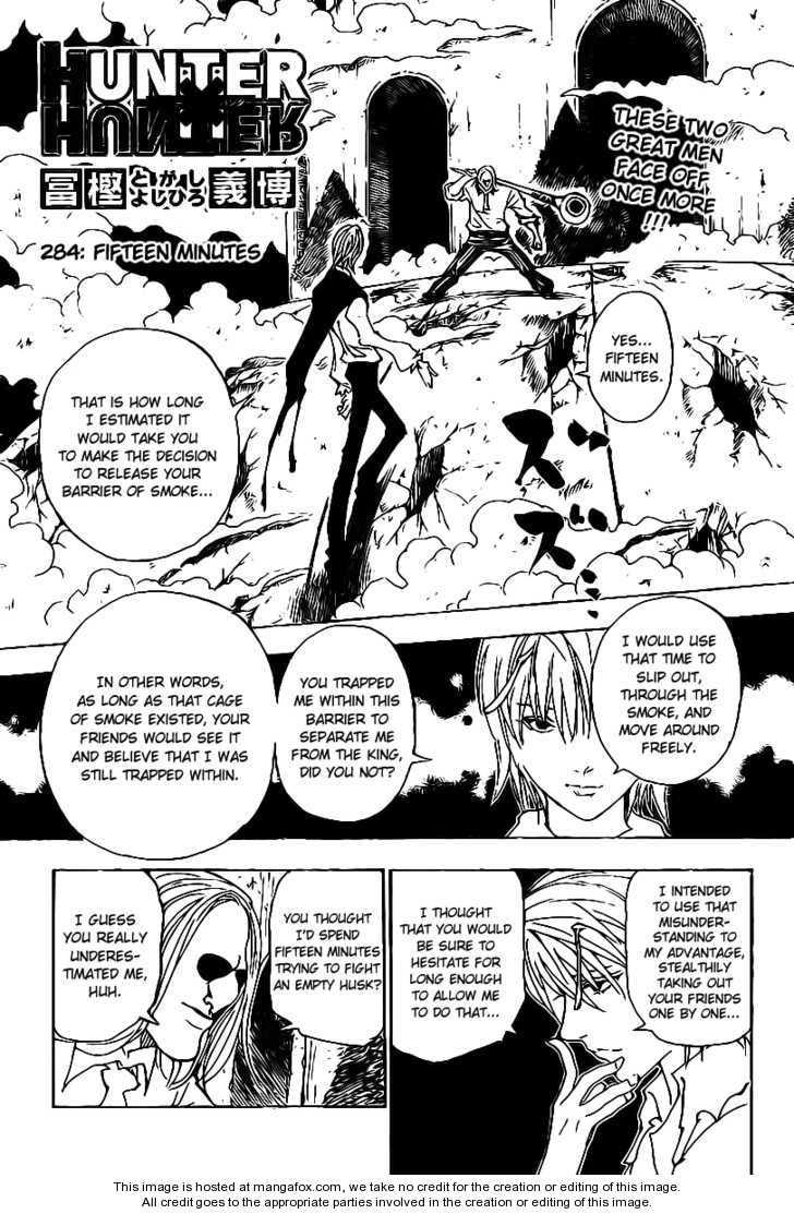 Hunter X Hunter 284 Page 1