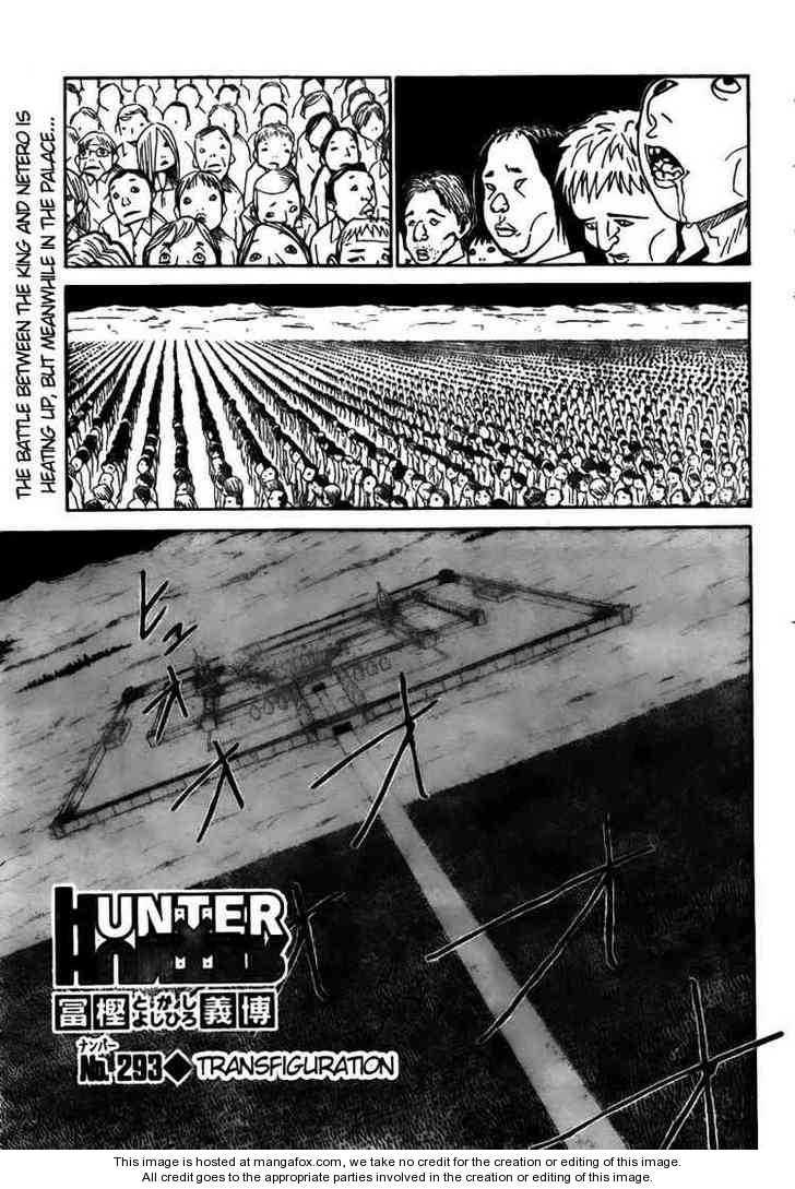 Hunter X Hunter 293 Page 1