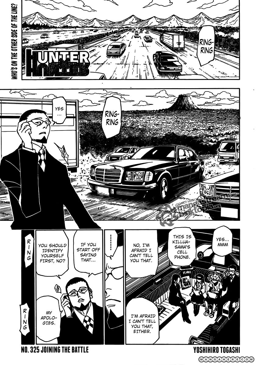 Hunter X Hunter 325 Page 1