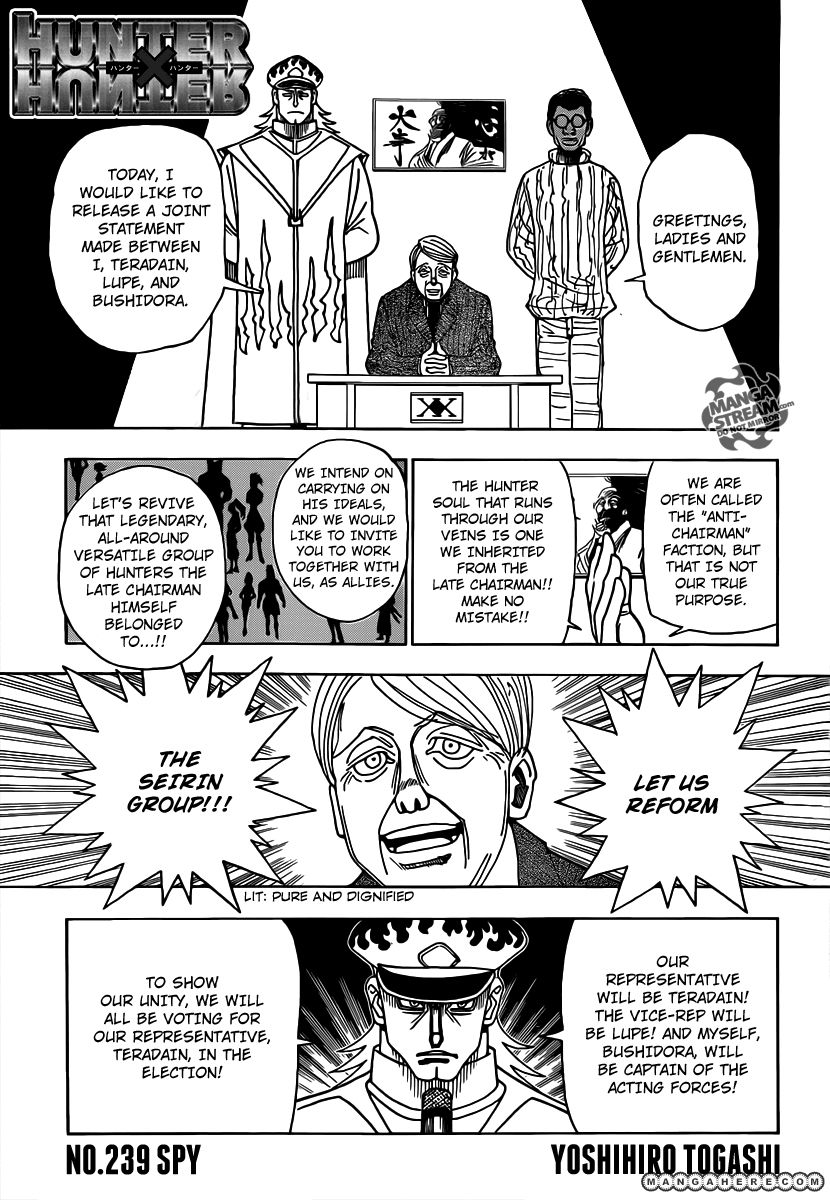 Hunter X Hunter 329 Page 1