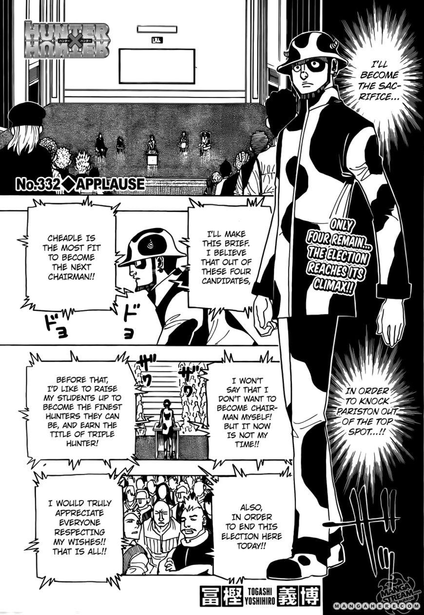 Hunter X Hunter 332 Page 1