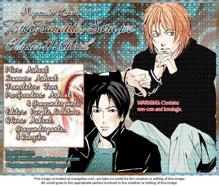 Te wo Tsunaide, Sora wo 11 Page 1