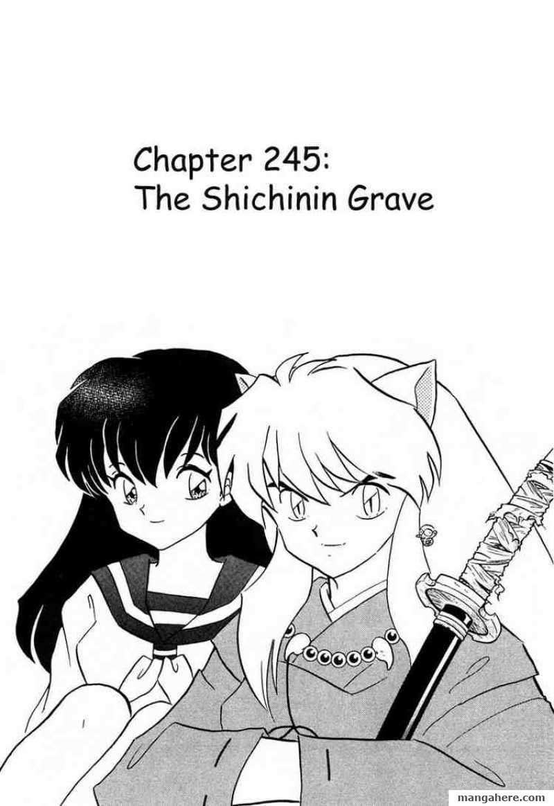 InuYasha 245 Page 1