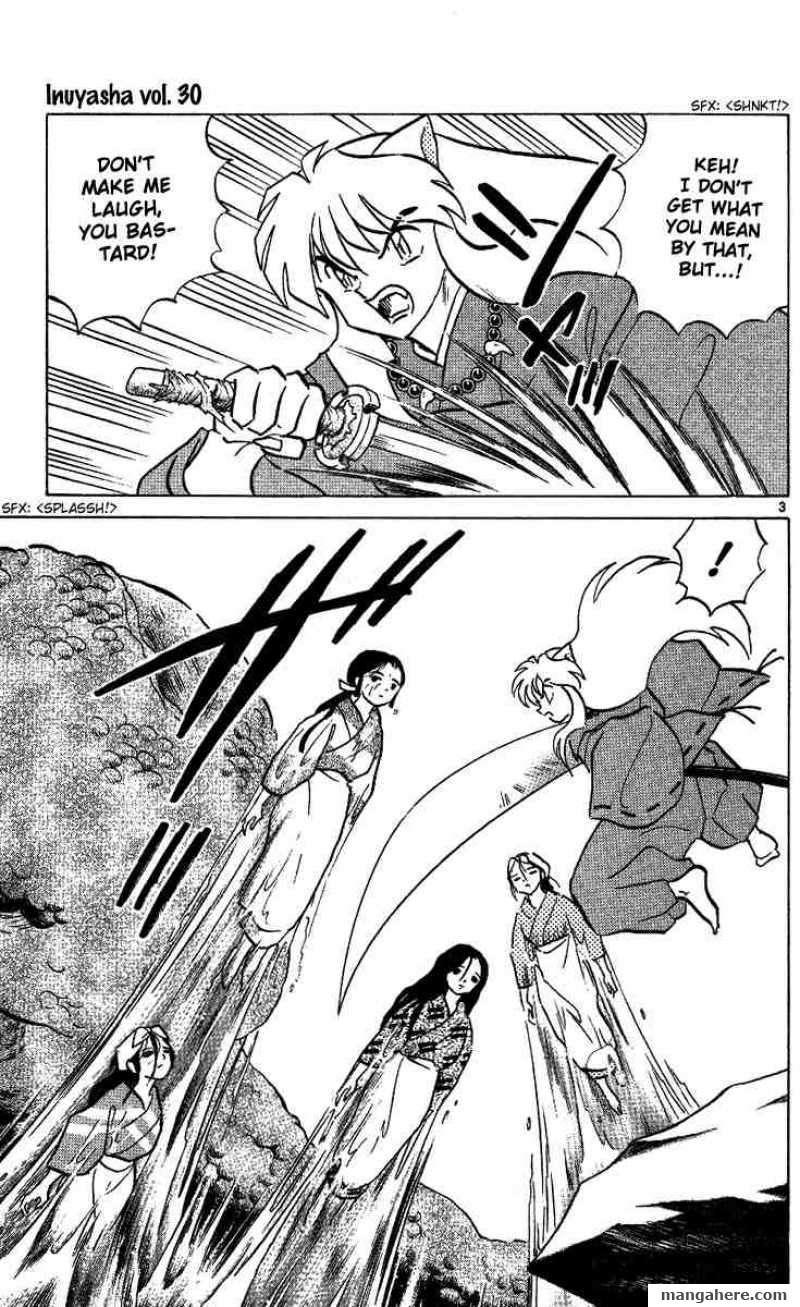 InuYasha 291 Page 3
