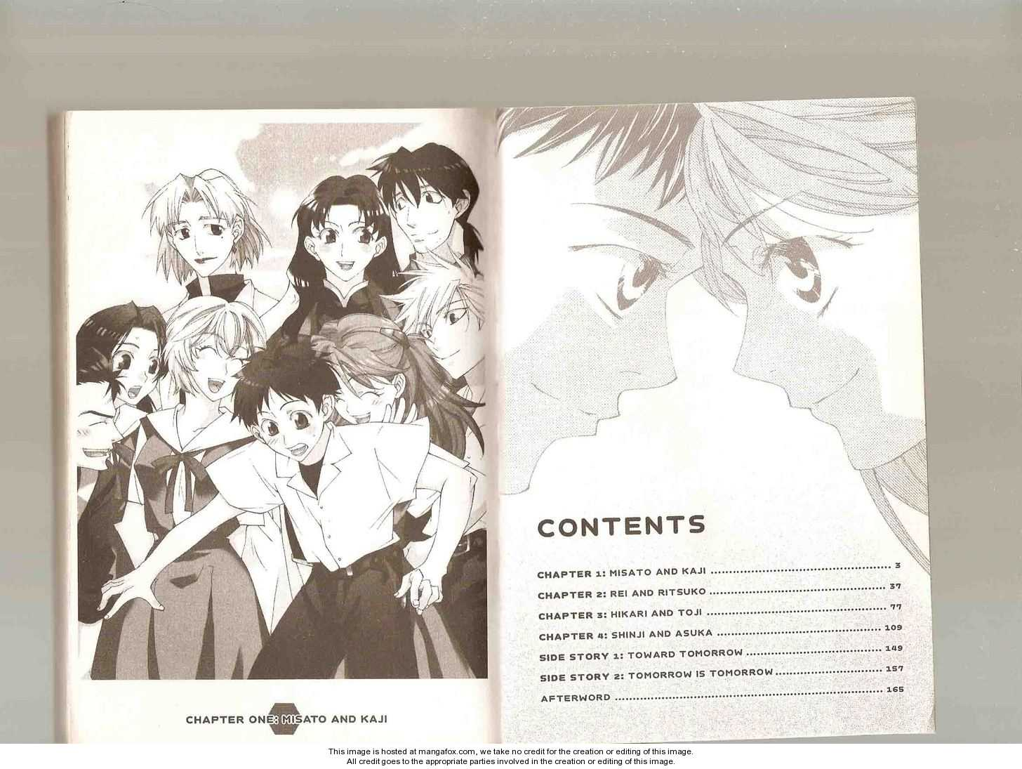 Neon Genesis Evangelion: Koutetsu no Girlfriend 2nd 1 Page 3