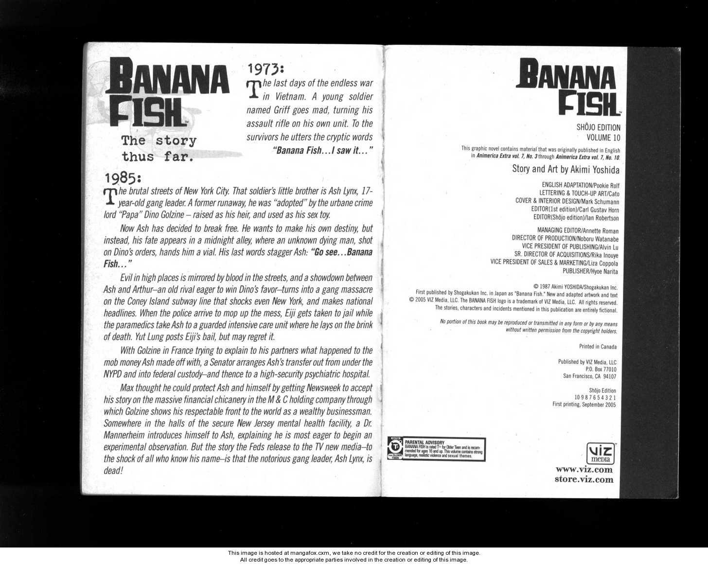 Banana Fish 1 Page 3