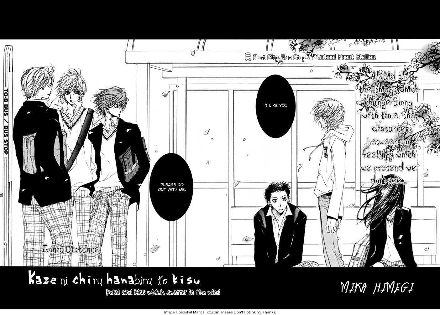Kaze ni Chiru Hanabira to Kisu 1 Page 3