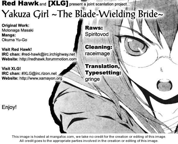 Yakuza Girl 8 Page 1