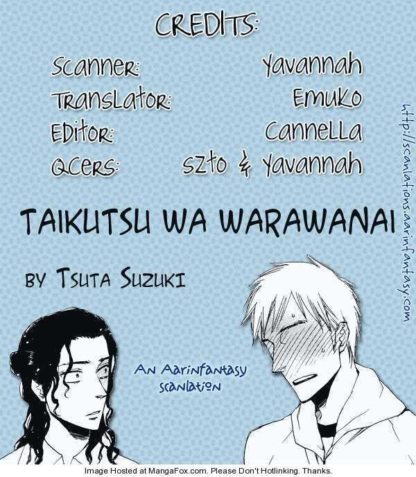 Taikutsu wa Warawanai 1 Page 1