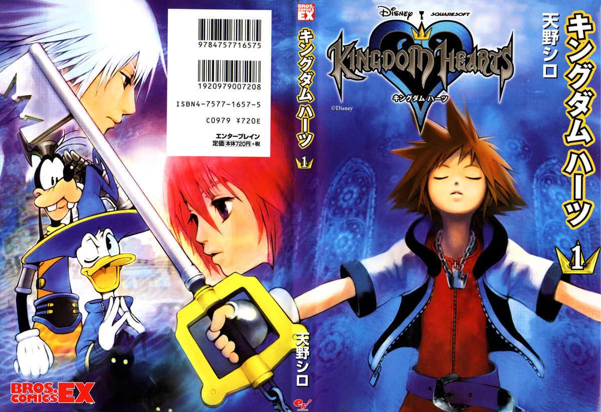 Manga e Anime Kingdom Hearts