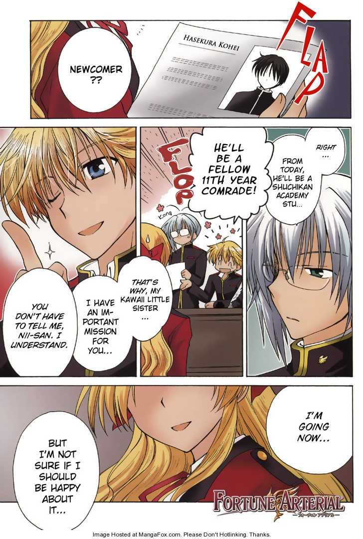 Fortune Arterial 1 Page 1
