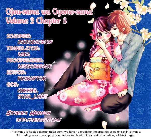 Ojou-sama wa Oyome-sama 8 Page 2