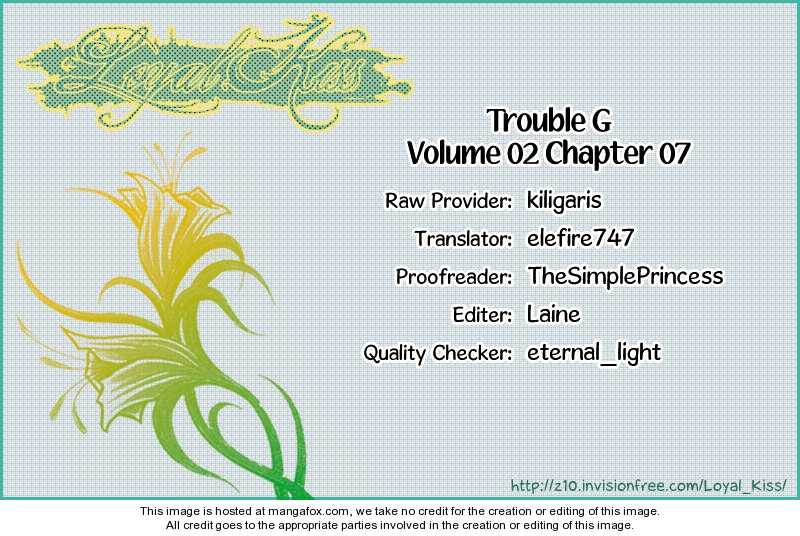 Trouble G 7 Page 1