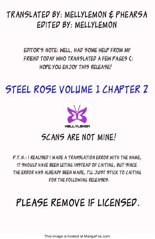 Steel Rose 2 Page 1