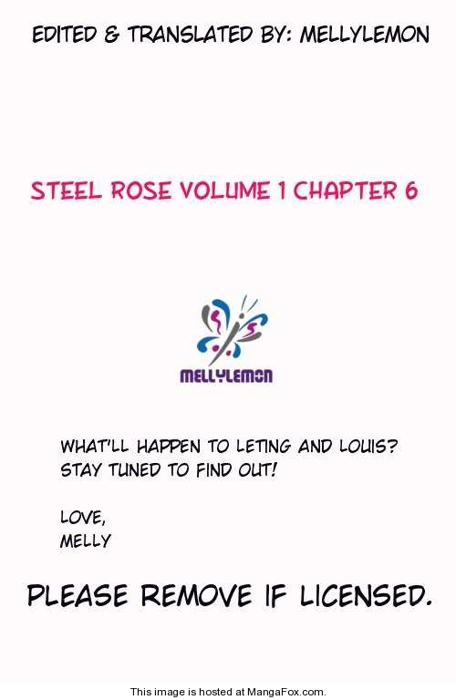 Steel Rose 6 Page 1