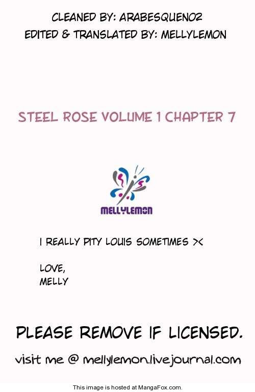 Steel Rose 7 Page 1
