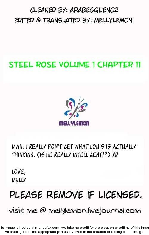 Steel Rose 11 Page 1