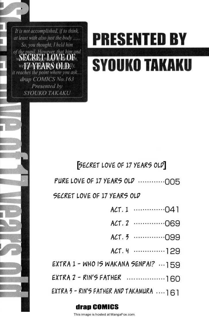 17 Sai no Hisoka na Yokujou 1 Page 4