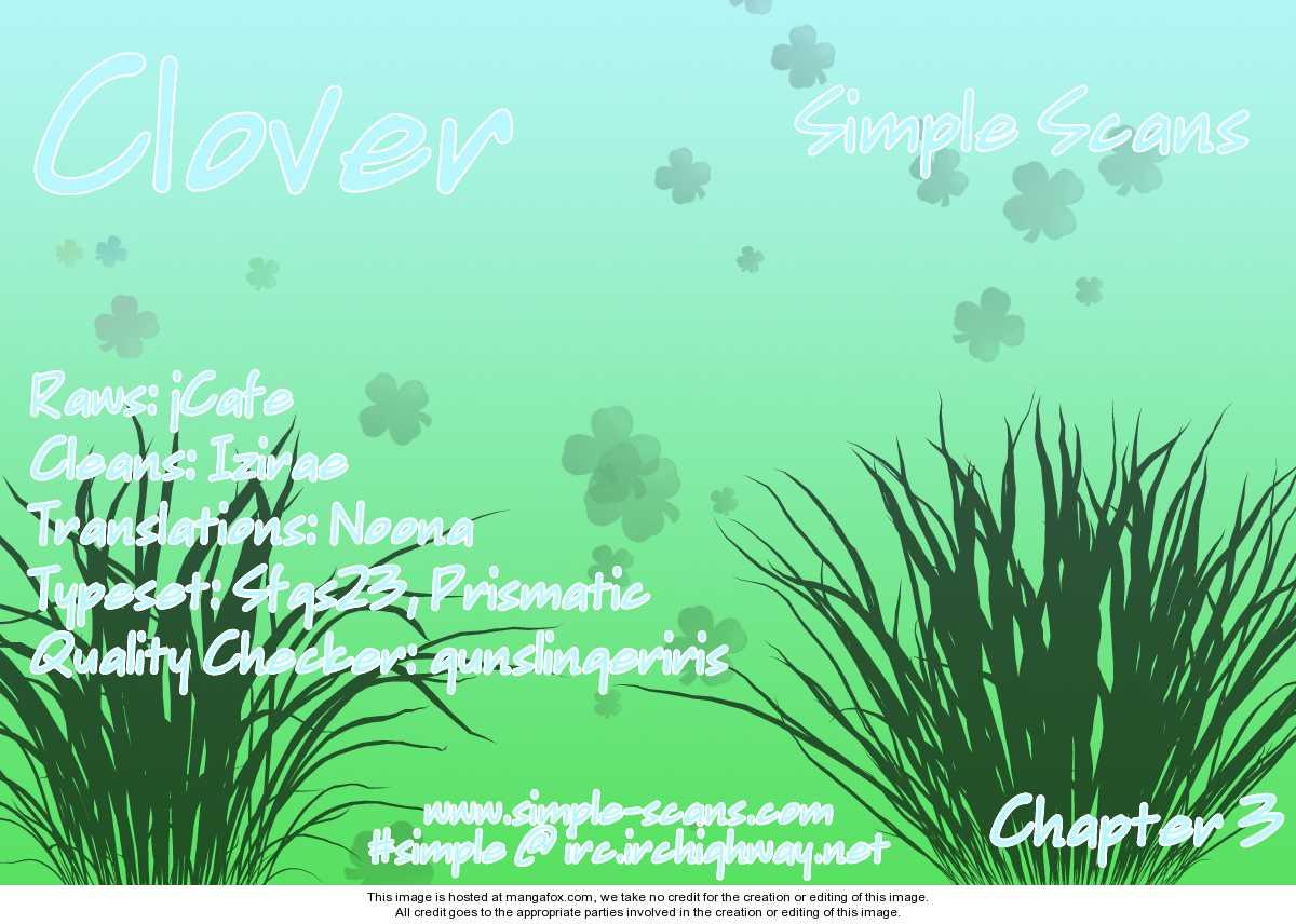 Clover (CHIYA Toriko) 3 Page 1
