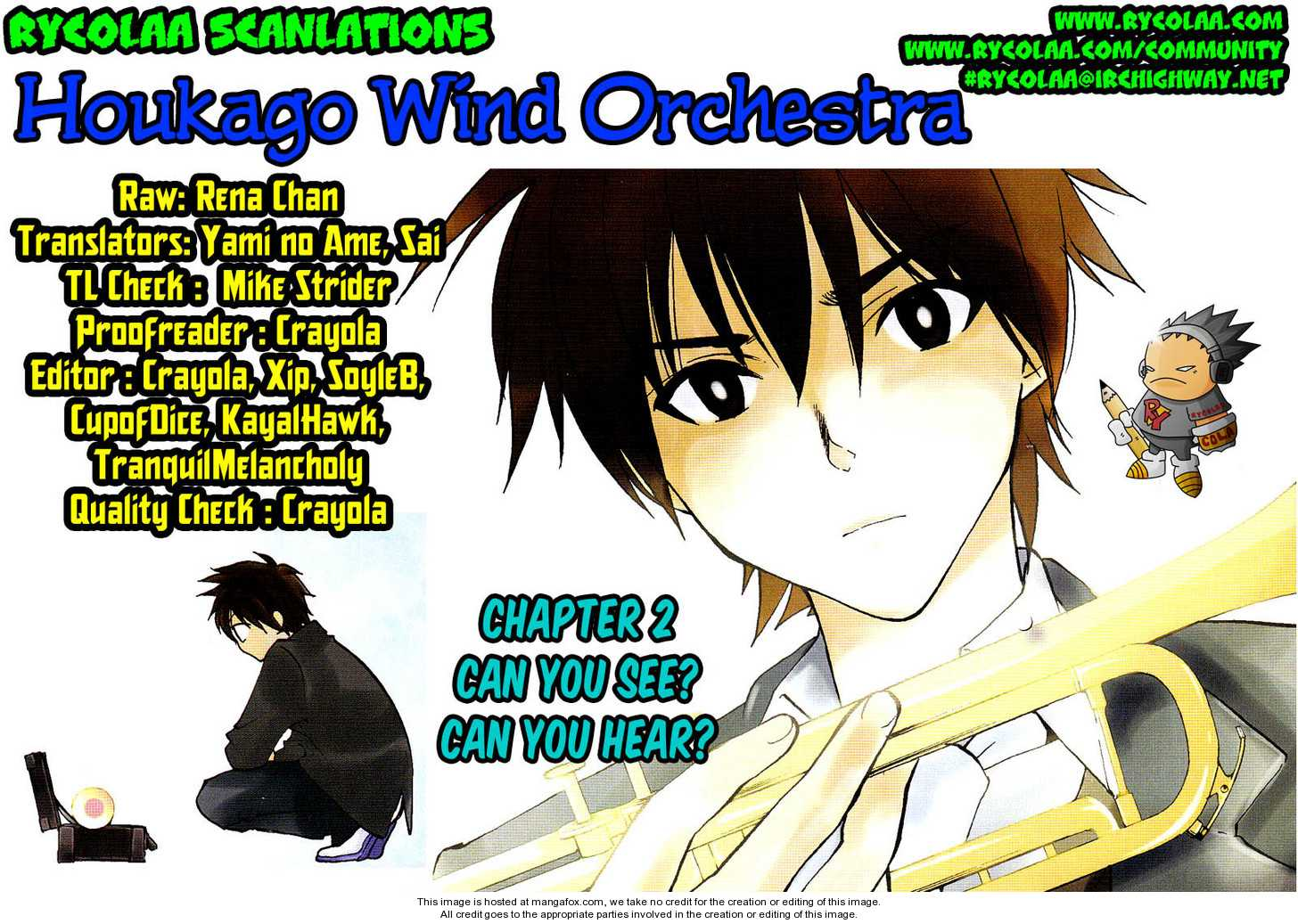 Houkago Wind Orchestra 2 Page 1