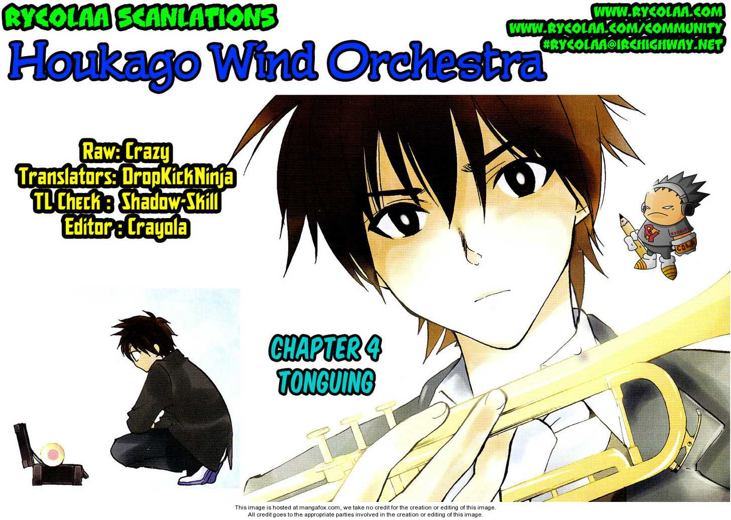 Houkago Wind Orchestra 4 Page 1