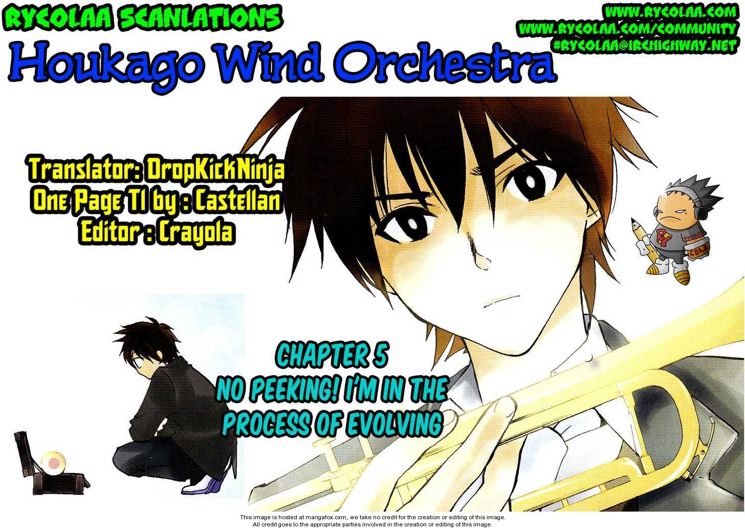 Houkago Wind Orchestra 5 Page 1