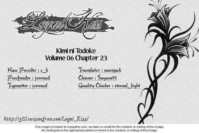 Kimi ni Todoke 23 Page 1