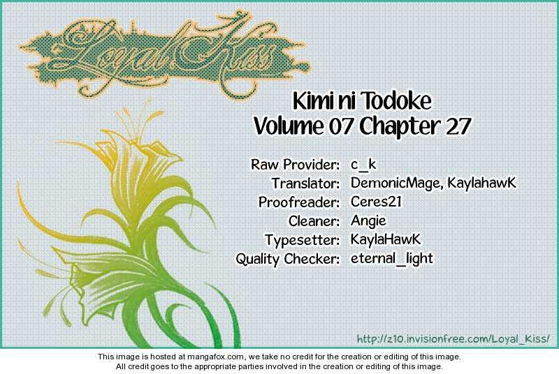 Kimi ni Todoke 27 Page 1