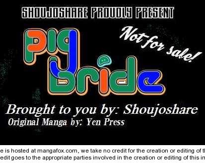 Pig Bride 1.2 Page 1